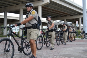 Tampa Bicycle Police at the RNC